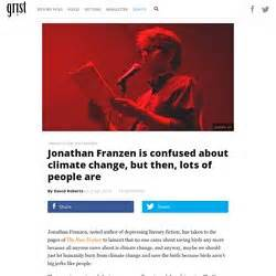 Jonathan franzen essay why bother